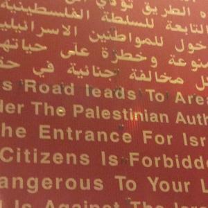 子どもたちは笑顔で中指を突き立てた(パレスチナ)