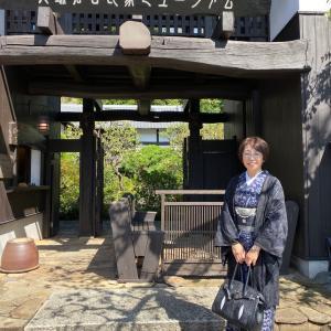 北鎌倉「自然布 浮かび上がる,人のいとなみ展」へ