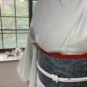 単衣羽織は使い勝手がいい体温調節のカーディガン
