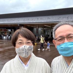 織物や養蚕に関係ある神社のお詣りへ