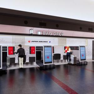 JAL 羽田空港カウンター等刷新