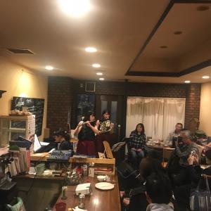 昨日は本当に楽しく、満席のお客さま、ありがとうございました。