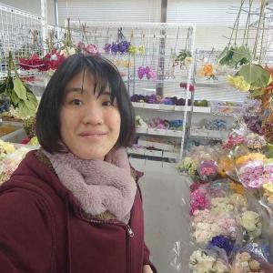 頭かざりのお花が決定!