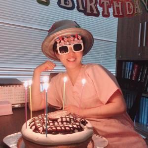 誕生日を迎え、44歳になりました!!
