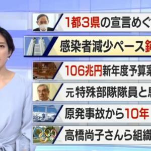NHKニュース 7 2021年3月02日