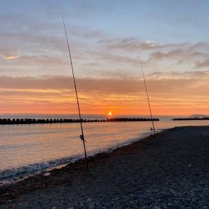 8/25 2020鮭釣り ③ 【日本海】