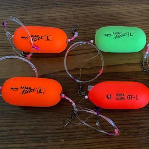 11/27 釣具小物の大人買い ②  &  2021鮭釣り準備 ③ 【ルアー&ウキ】