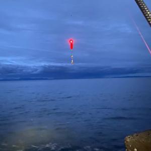 8/11 2021 鮭釣り ① 【内浦湾】
