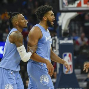 カール・アンソニー・タウンズの復帰を喜ぶアンドリュー・ウィギンス「彼は天性のバスケットボール選手」