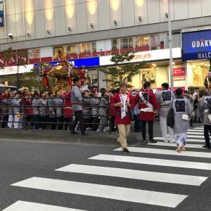 新宿にもお祭りの季節