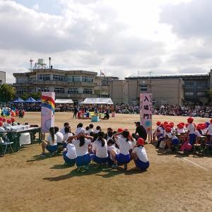 道場の子供たちの運動会