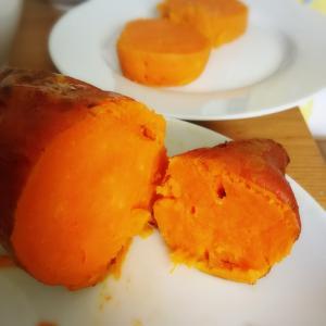 イギリスのスイートポテトで焼き芋