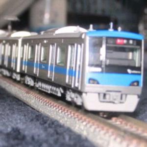 「小田急線の模型(反対回りの4000形・その11)」