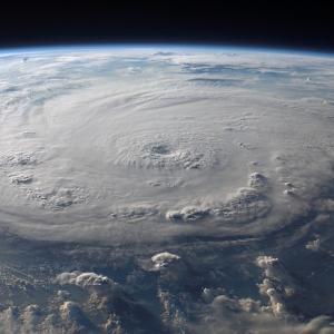 台風18号…