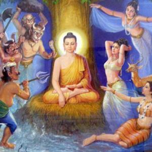 壮大な「法華経」の世界 (仏陀の一念、衆生の一念)