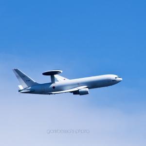 AWACSには青空が似合う