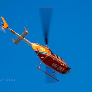 高圧鉄塔 保守ヘリ