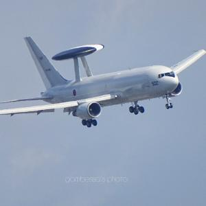 AWACS 後ろ姿