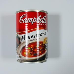 キャンベルの缶入りミネストローネ