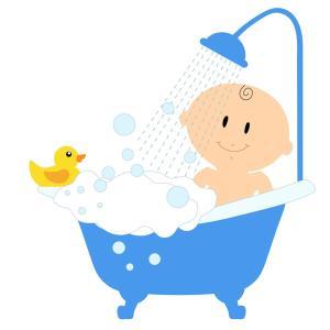 産後14日 NICUで沐浴と授乳指導