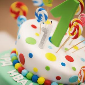 1歳のお誕生日おめでとう!!