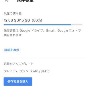 Google フォトの容量