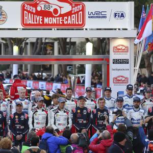 Le Rallye Monte-Carlo 2020 開幕!