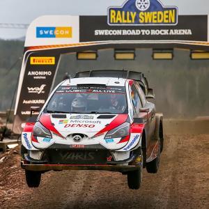 WRC 第2戦 E・エバンス (TOYOTA) 優勝!!!