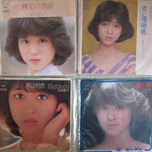 松田聖子 初期シングルレコード 特集