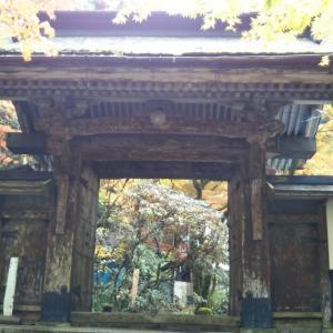 紅葉を見に横蔵寺、横山ダム、徳山ダム