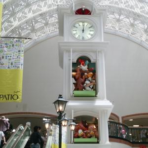 子どもが大好き、名谷駅、須磨パティオのからくり時計