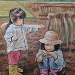 今日のアートギャラリー(その6 収穫)