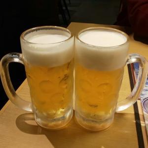 上野で飲んでいます\(^_^)/