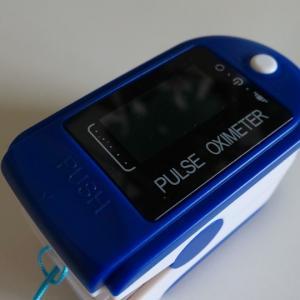 コロナで買った肺の機能が計測出来るパルスオキシメータ