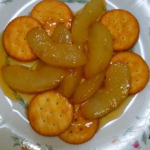 アップルパイのアレンジ版作ってくれた