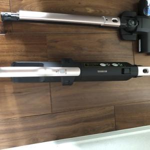 極細軽量スティッククリーナー(スタンド・モップ付) KIC-SLDCP6