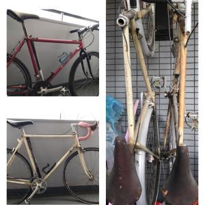 遺された自転車と私