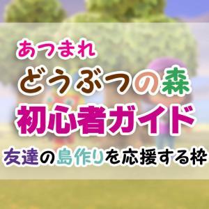 はじめての「あつ森」初心者ガイド(3)【あつまれどうぶつの森】