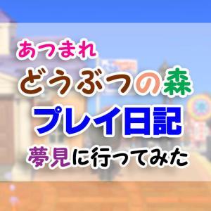 コメダ珈琲が島主の「コメダ島」へ/「夢見」に行ってみた・その7【あつまれどうぶつの森】