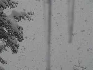 白川郷のライブカメラは展望台から