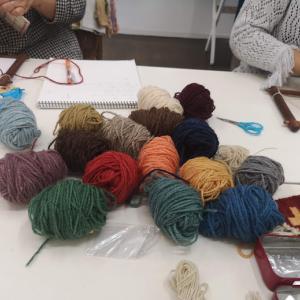 10/15 オヤマニアの会でのキリム、絨毯のワークショップ報告