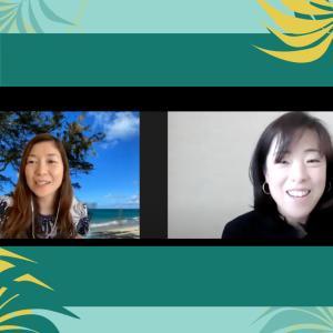 ハワイ在住発音コーチAikoさんとのレッスンでした!
