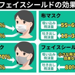 変異株対策にN95マスク