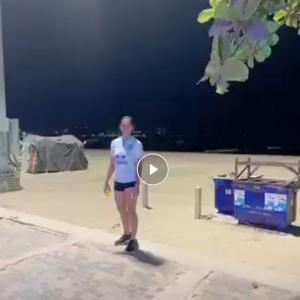 パタヤ ビーチでお遊び