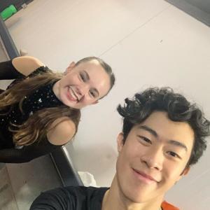 ネイサン新プロ撮影中!日本で待ってて♪