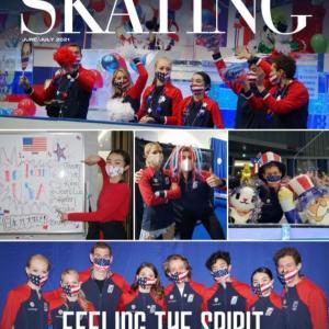 皆に付いて行けるよう頑張る♪Skating Magazine