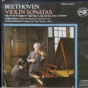 ベートーヴェン:ヴァイオリン・ソナタ第7番/ラルフ・ホームズ