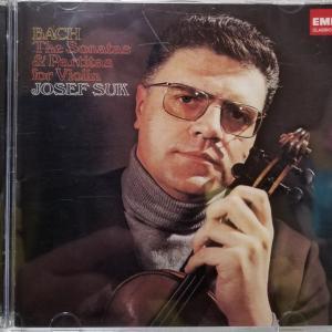 バッハ:無伴奏ヴァイオリン/スーク
