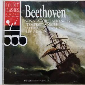 ベートーヴェン:ピアノソナタ/シルビア・カポワ