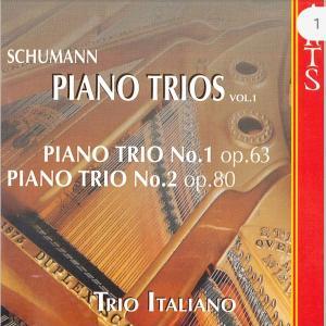 シューマン:ピアノ三重奏曲/トリオ・イタリアーノ